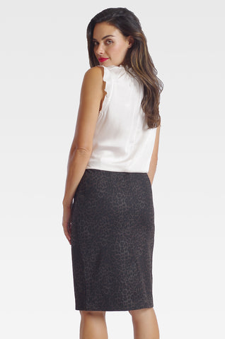 Logan Skirt - Knit Print