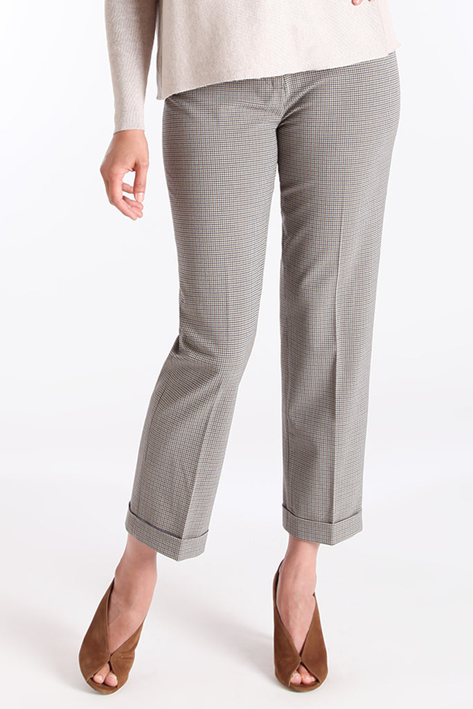 Addison Pant - Duchess Check: FINAL SALE