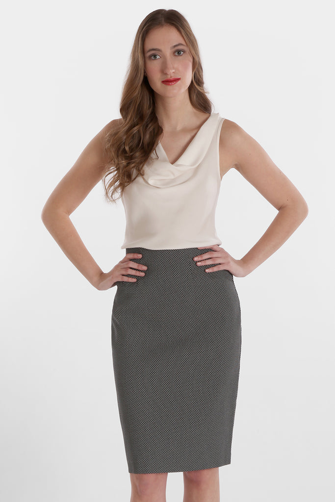 Logan Skirt - Bi-Coastal Pique: FINAL SALE