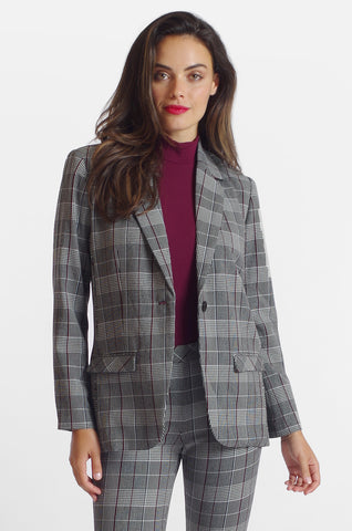 Harlow Jacket - Sussex Plaid