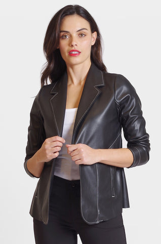Mason Jacket - Faux Leather