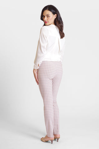 Jasmine Pant - Seaside Check
