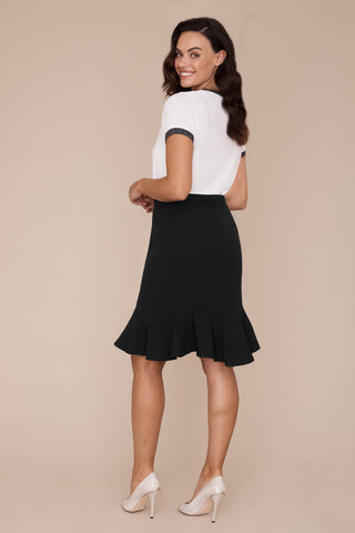 Goldie Skirt - Castle Stretch