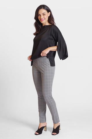 Jasmine Pant - Manhattan Plaid