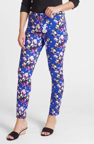 Twiggy Slim Jean - Colorful Bouquet