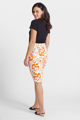 Logan Skirt - Multi Floral