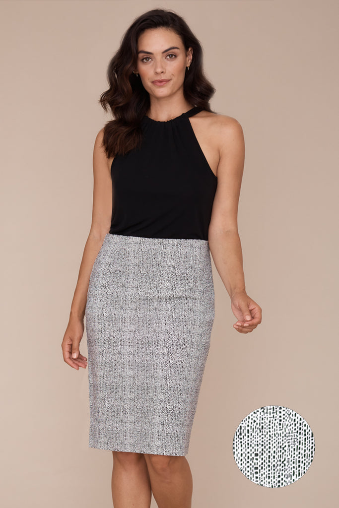 Logan Skirt - Tile Print