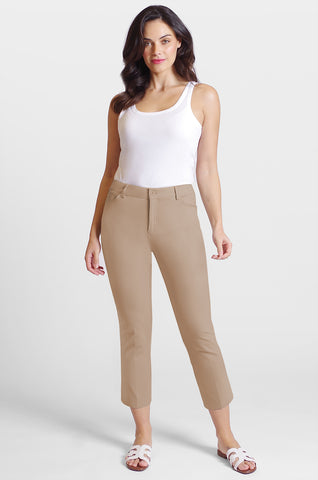 Casey Crop Jean - Blossom Twill - Essential Colors