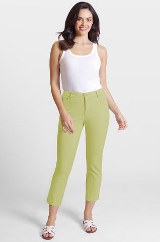 Casey Crop Jean - Blossom Twill - Fashion Colors