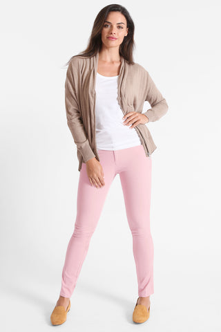Twiggy Slim Jean - Blossom Twill - Fashion Colors