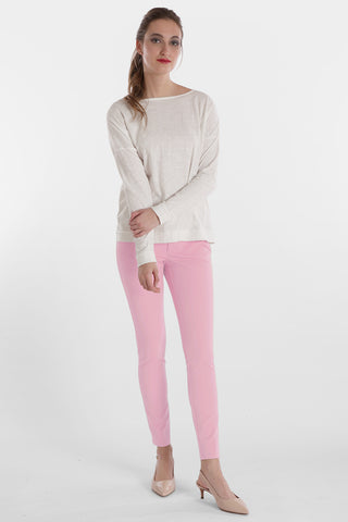 Harley Ankle Slim Jean - Blossom Twill - Fashion Colors