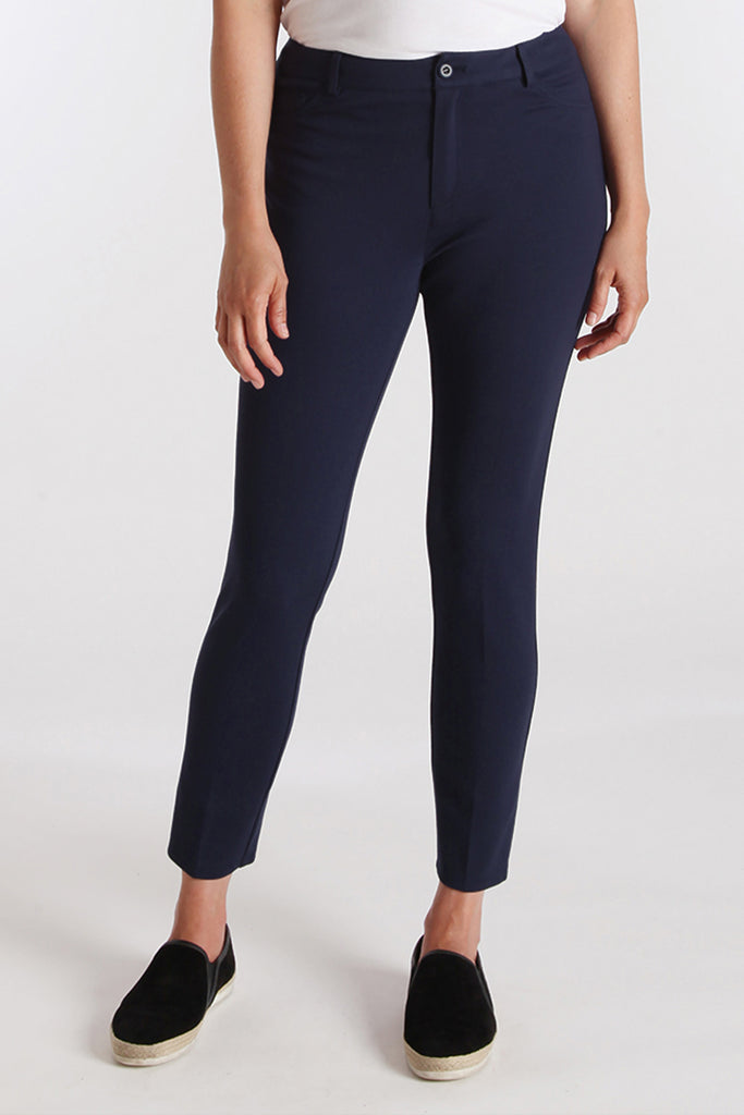 Harley Ankle Slim Jean - Paramount Knit: FINAL SALE