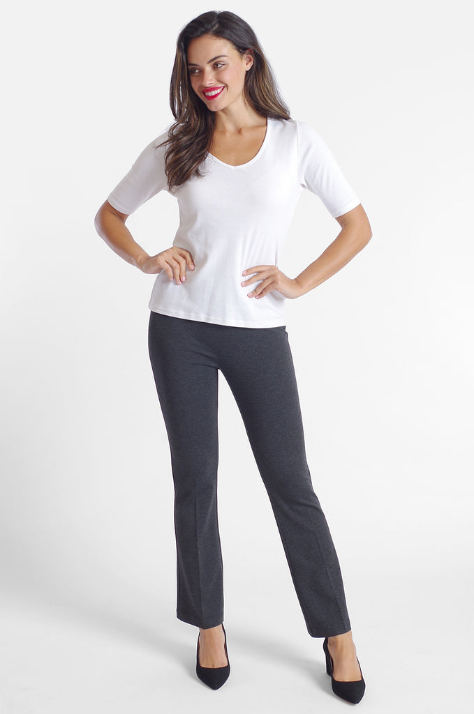 Cher Flare Pant - Paramount Knit: FINAL SALE