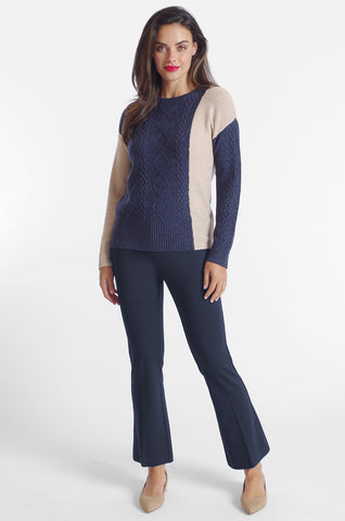Cher Flare Pant - Paramount Knit