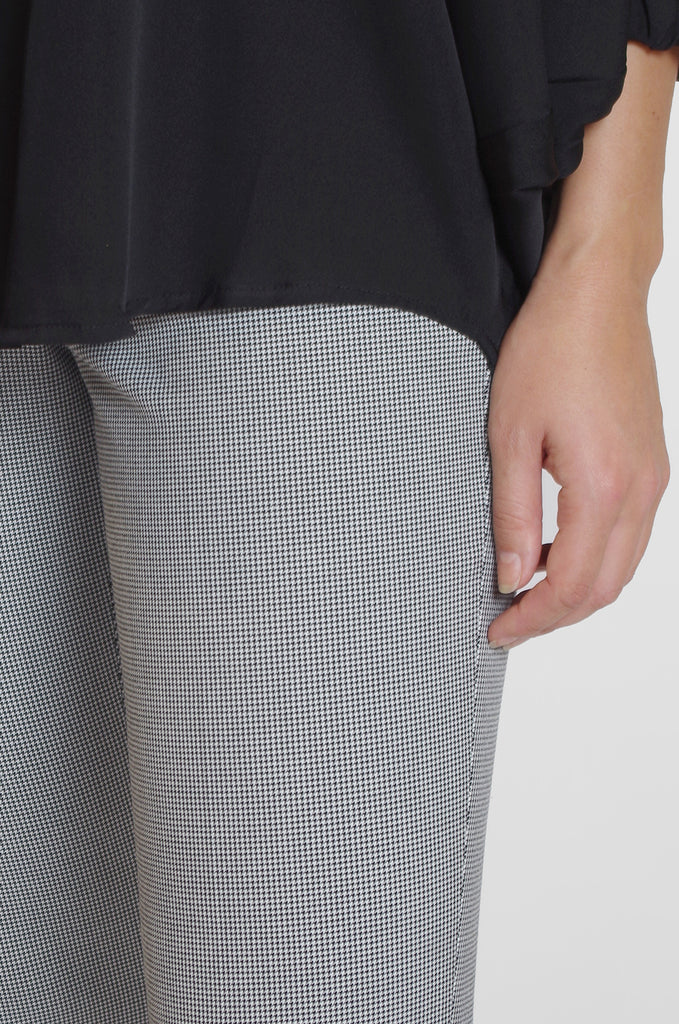 Jezebelle Pant - Museum Check: FINAL SALE