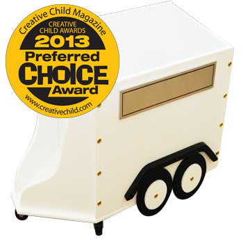Horse Trailer Toy Box