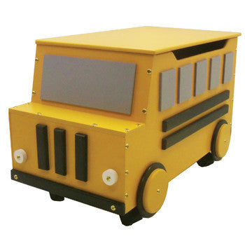 School Bus Toy Box