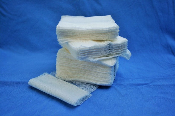 What is the difference between woven and non-woven gauze?