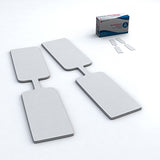 Butterfly wound closure strips and sterile strips