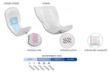 Attends Bladder Control Pads chart