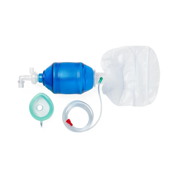 Adult Bag Valve Mask (BVM) Manual Resuscitators