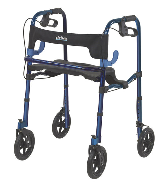 "Clever-Lite Walker, Adult, with 8"" Casters"