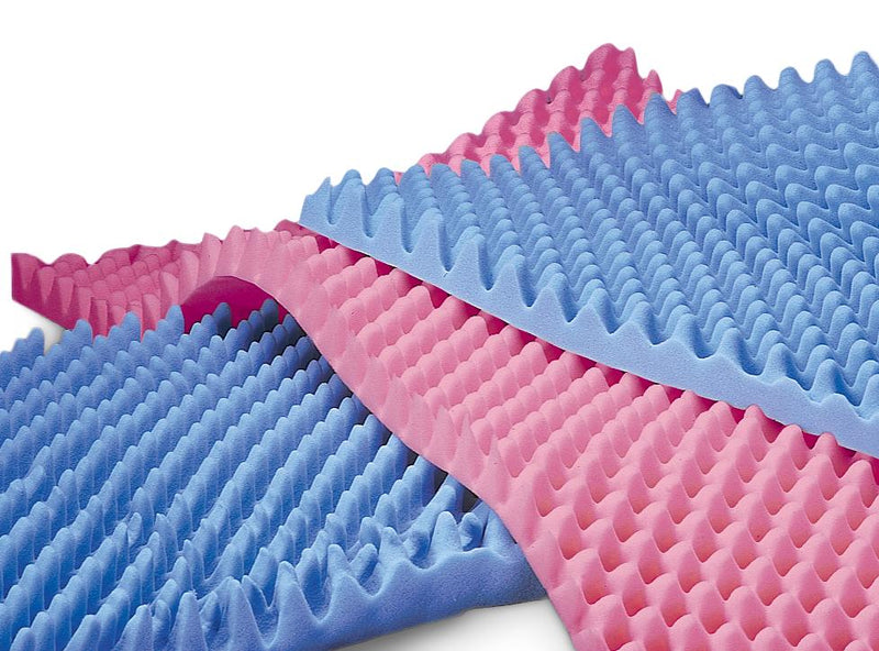 Convoluted (egg crate) Foam Bed Pad