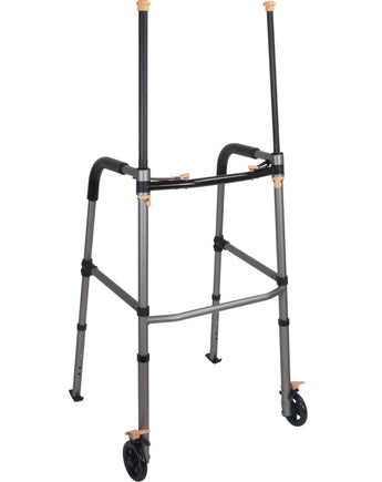 "LiftWalker with Retractable Stand Assist Bars and 5"" Wheels"