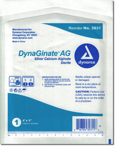 Dynaginate AG Silver Calcium Alginate Dressing