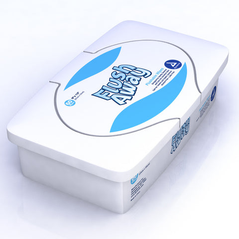 Flushable Disposable and Dispersible Wipes