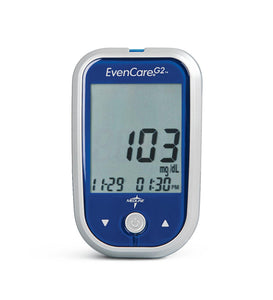 Medline Evencare G2 Glucose Meter and Accessories