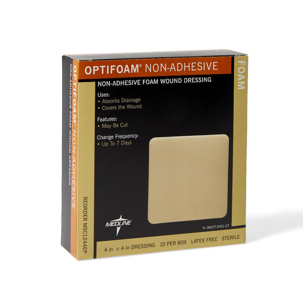Medline OptiFoam Non-Adhesive Foam Dressing