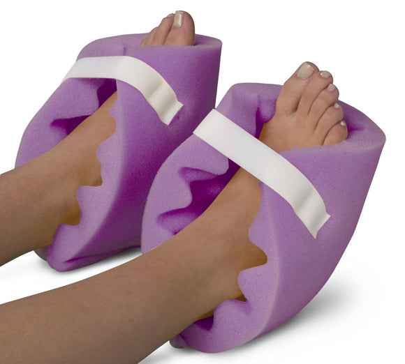 Convoluted Foam Heel Protector Foot Positioner, 1 PAIR (2 units)