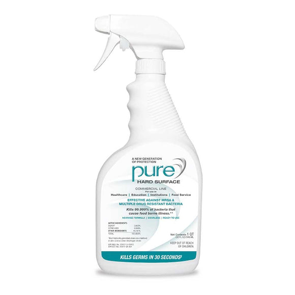 Pure Hard Surface Disinfectant - Antibacterial Antiviral Antifungal