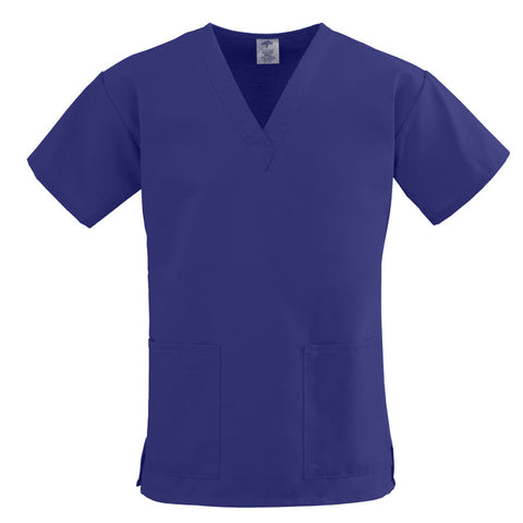 Women's Scrub Tops, 2 Lower Pockets, Comfort Ease by Medline