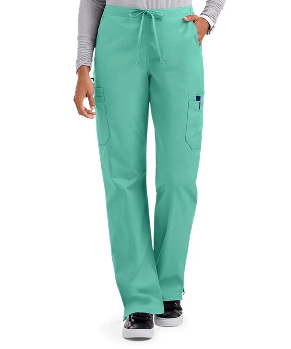 UA Butter-Soft STRETCH Scrubs Women's Drawstring Pants w/ Back Elastic