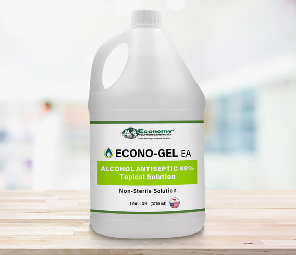 EconoGel Gel Hand Sanitizer- Gallon