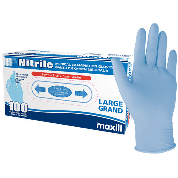 Maxill Nitrile Medical Examination Gloves