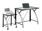 Bayview Desk and Cart Combo