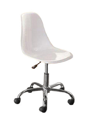 Merveilleux Mainstays Contemporary Office Chair White