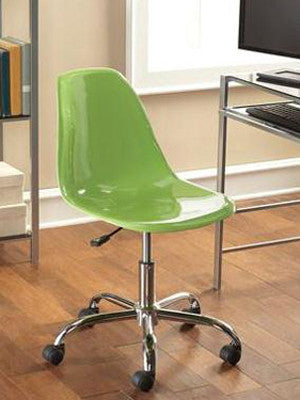 Charming ... Mainstays Contemporary Office Chair Green