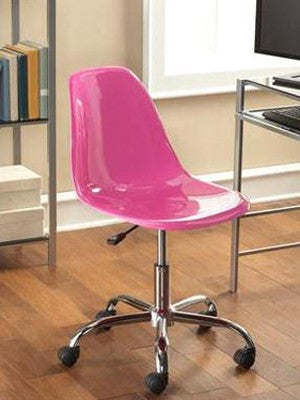 Mainstays Contemporary Office Chair Pink Z Line Designs Inc