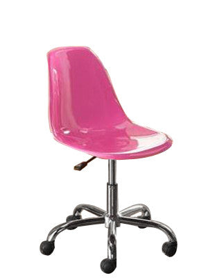 Mainstays Contemporary Office Chair Pink