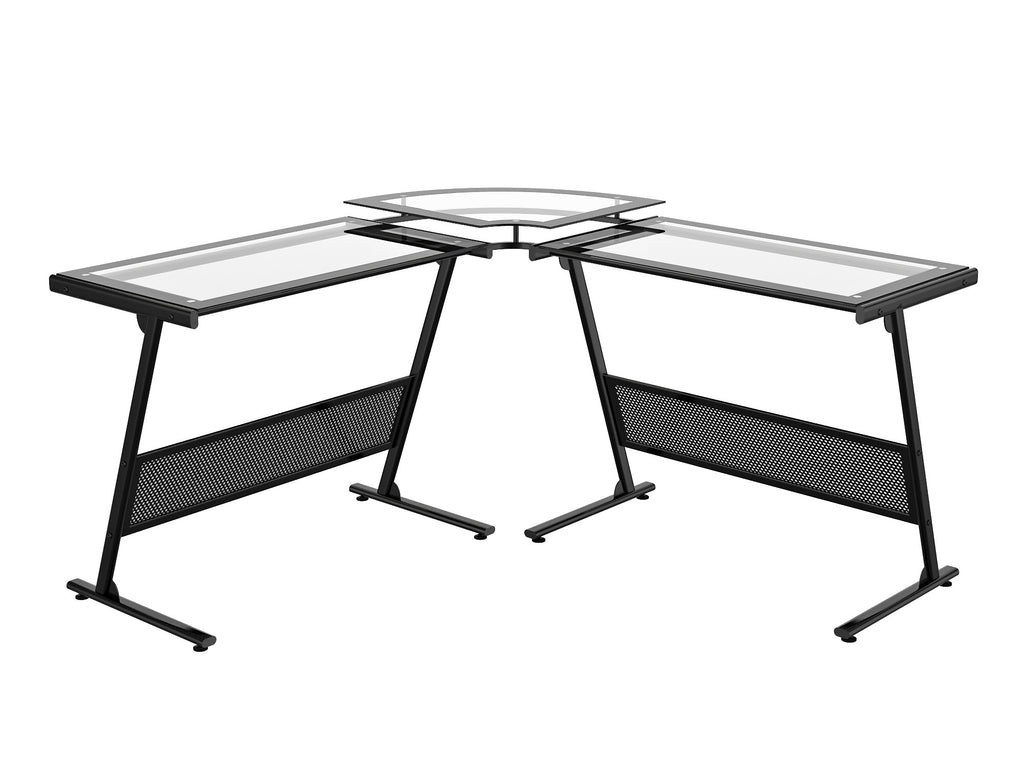use of office line shaped z glass image design desk dennis sets l hobson an