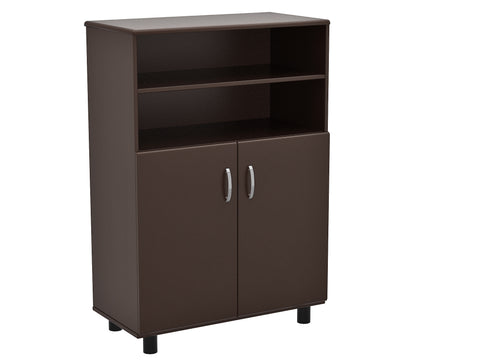 4-Drawer Espresso Vertical File