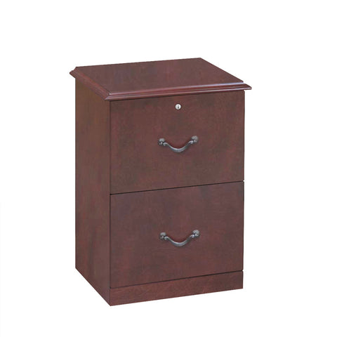 2-Drawer Cherry Verticle File