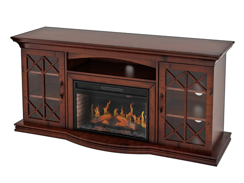 Bowden TV Stand with Fireplace