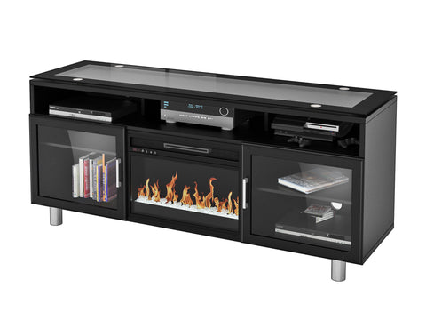 Madie TV Stand with Fireplace