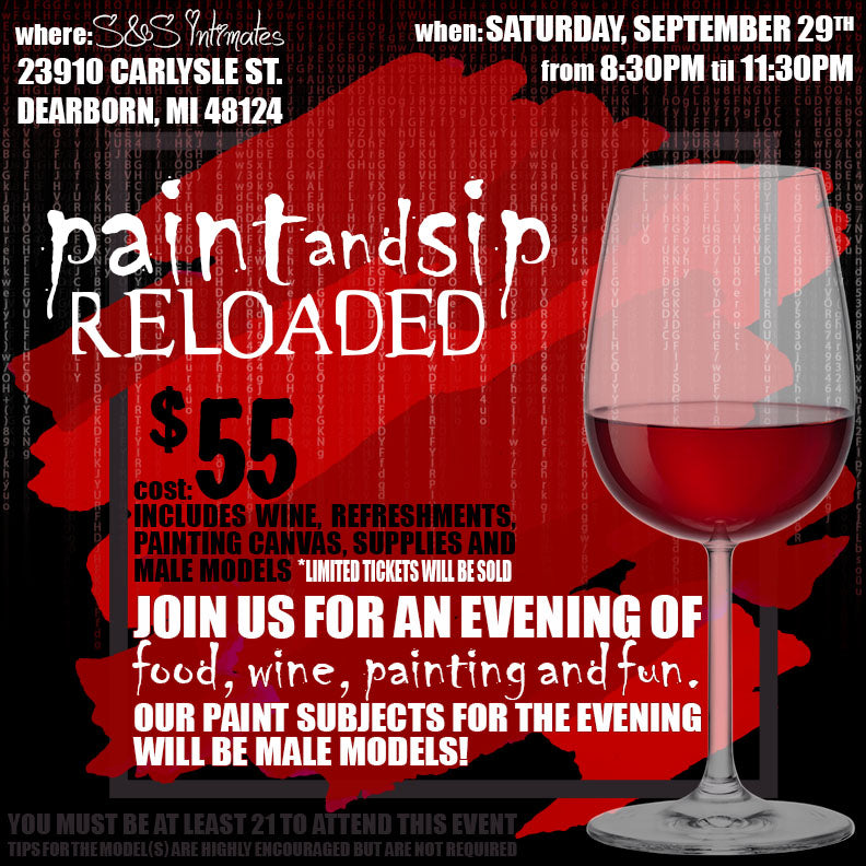 Paint & Sip Adult Style - Reloaded