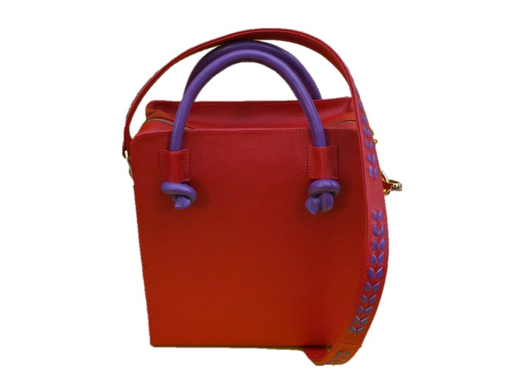 Square Bag Red